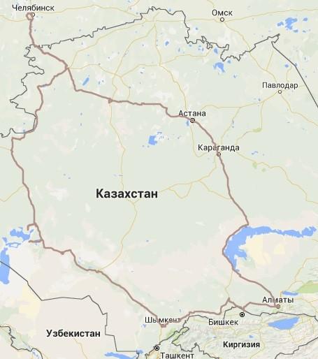 Казахстан 2016
