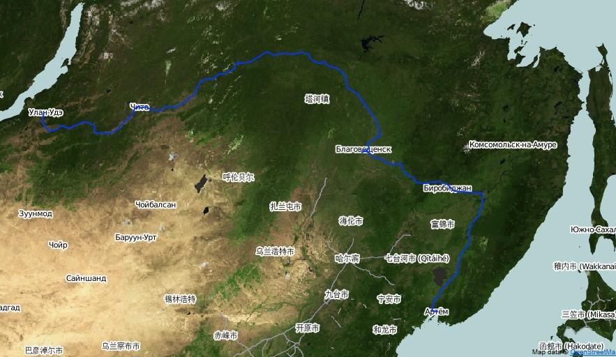 Часть 3. Забайкалье и Китай