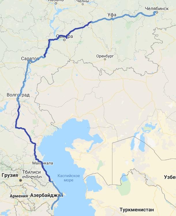 Азербайджан  - Росссия