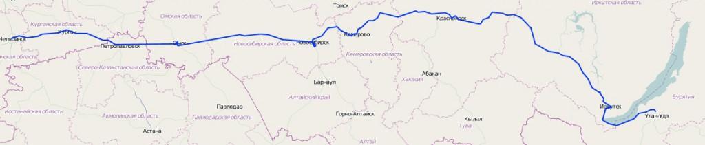 Часть 1. Дорога до Байкала
