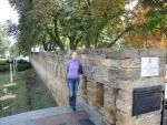 Крепостная стена в центре Ставропля