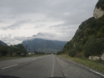 На пути к границе с Грузией