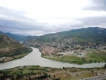 Вид от монастыря Джвари