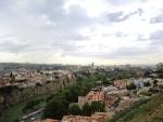 Вид на Тбилиси от Нарикалы