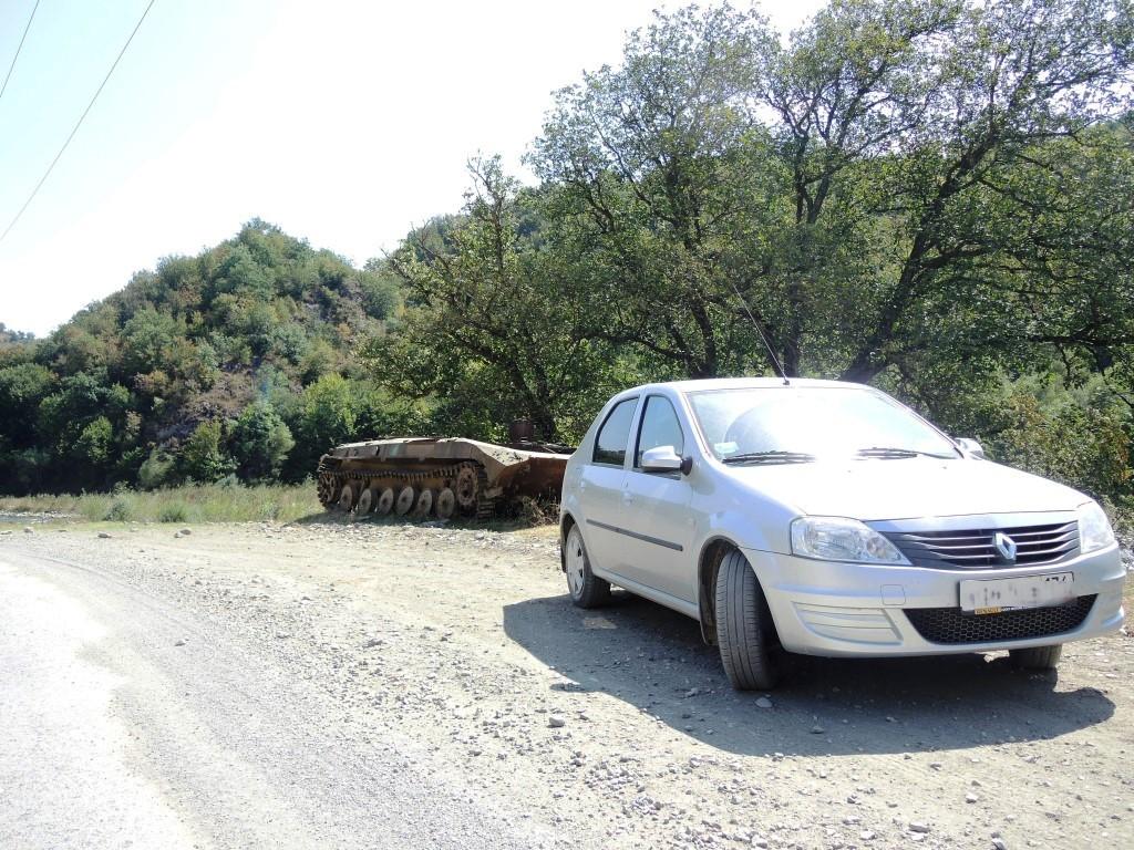 по пути в Армению