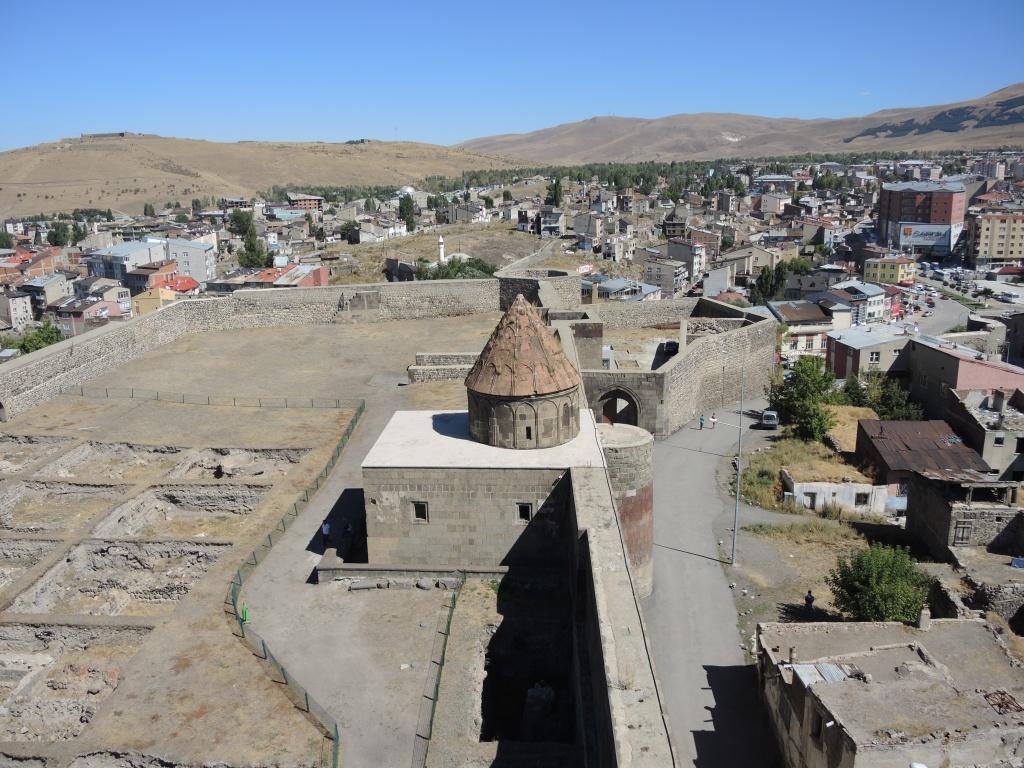 цитадель крепости. вид с минарета