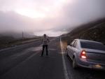 перевал на пути в Ризе. Высота 2640. Сзади видны облака