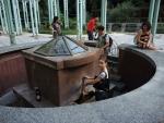 Боржоми. Источник в парке