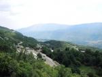 Черногория. Вид из монастыря Острог.