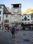 Черногория. Старый Котор. Часовая башня