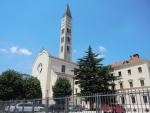 Мостар. Католическая церковь Петра и Павла
