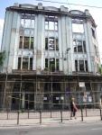 Сараево. Часто встречаются прострелянные дома