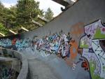Сараево. Санно бобслейная трасса
