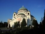 Белград. Храм Савы