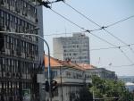 Центр Белграда. Восстановленный после бомбежек НАТО