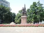 Белград. Памятник Николаю II