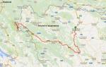 27-й день. Баня-Лука (БиГ)- Плитвецкие озера (Хорватия)