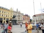 Загреб Центральная площадь