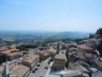 Вид из Сан-Марино на Римини