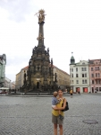 Чехия. Оломоуц. Чумная колонна