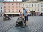 Чехия. Оломоуц. Центральная площадь