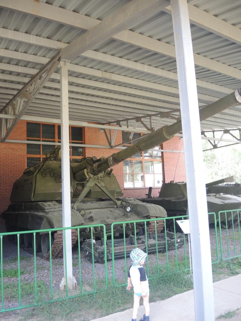 Музей в Ивановском. Танк