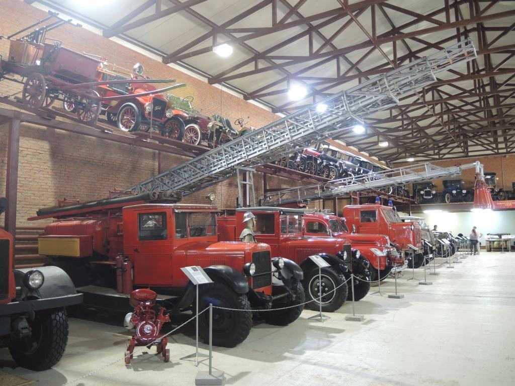 Музей в Ивановском. Пожарные машины
