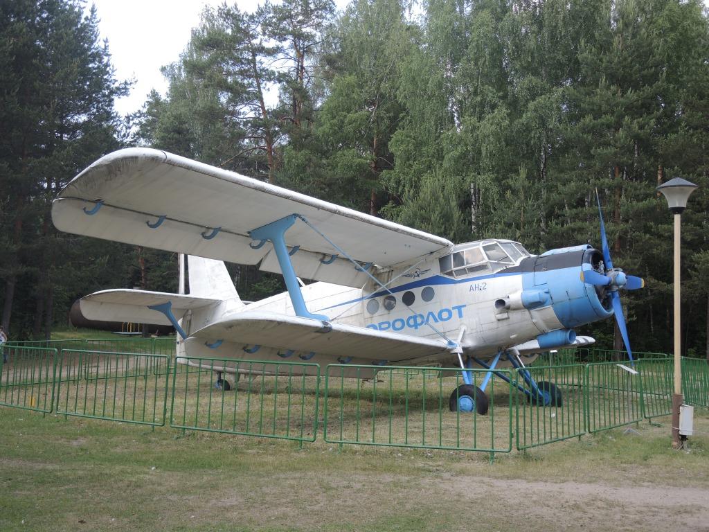 Музей в Ивановском. Самолет АН-2