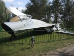 Музей в Ивановском. Самолет