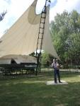 Музей в Ивановском. Летающая тарелка ЭКИП