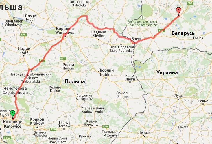 33-й день. Польша - Беларусь