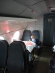Чехия. Ресторан в самолете.