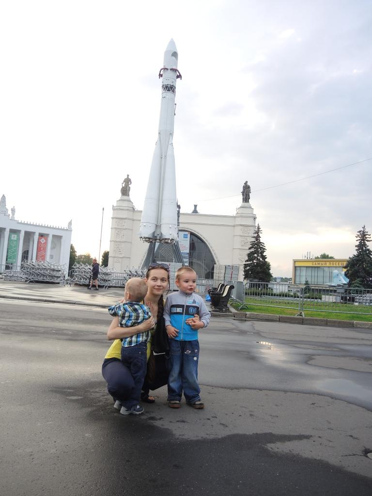 Москва ВДНХ. Ракета Восток