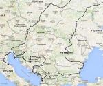Весь маршрут. Европейская часть
