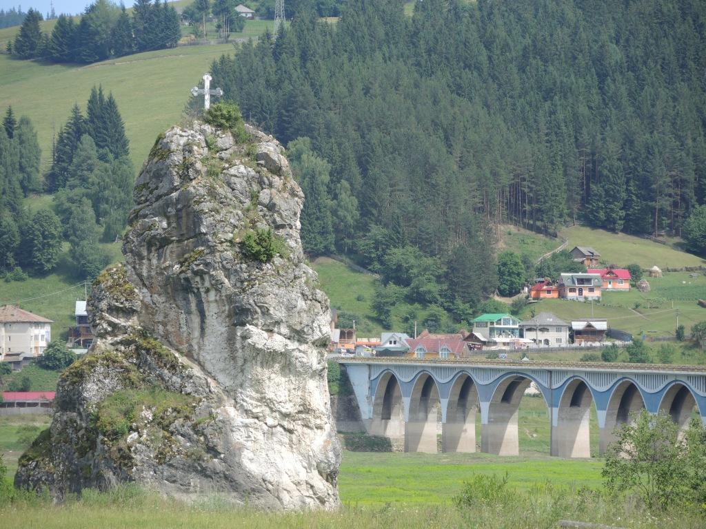 Мост через реку Бистрица
