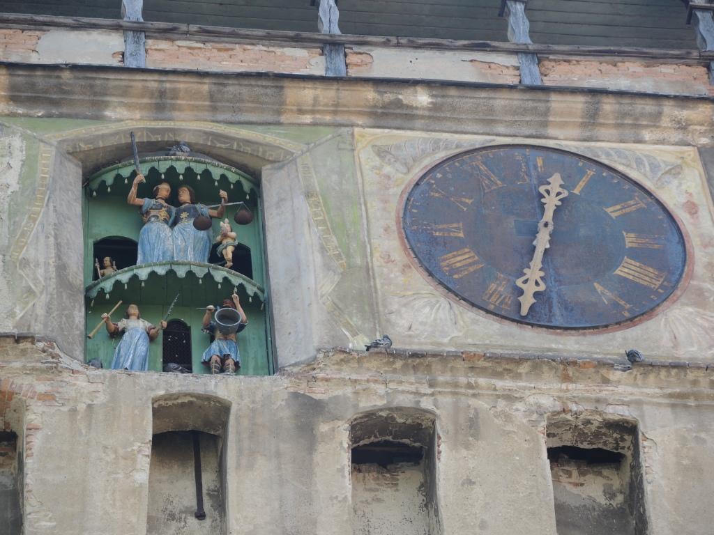 Сигишоара. Часовая башня