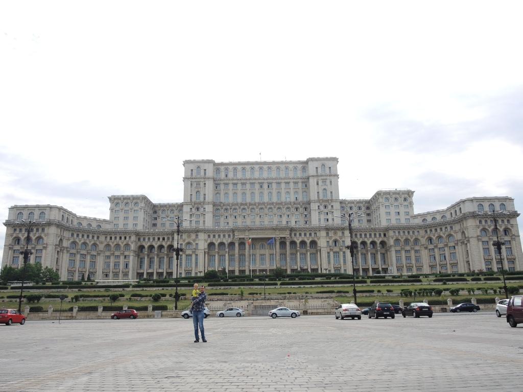 Бухарест. Дворец парламента