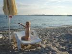 Болгария. Несебр. Пляж