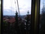 Косово. Приштина. Вид на город из отеля