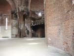 Приштина. Внутри взорванного и сожженного православного храма Христа Спасиеля.