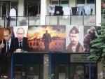 Косовская-Митровица. Северная часть. Путина уважают