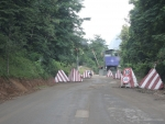 Блок пост KFOR на подъезде к монастрырю Высокие Дечаны