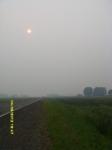 Из-за дыма от пажаров не видно солнца