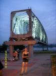 Новосибирск. Памятник мосту