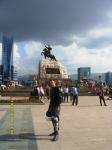 центральная площадь Улан-Батора