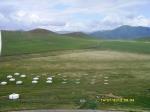 Вид со статуи Чингизхана