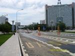 Чистота и отличный асфальт на китайских улицах