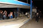 Прибытие дальнобойщиков на фуре - сломались