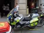 Польша. Краков. Мотоциклы Скорой Помощи