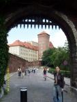 Польша. Краков. Вход в Краковский замок